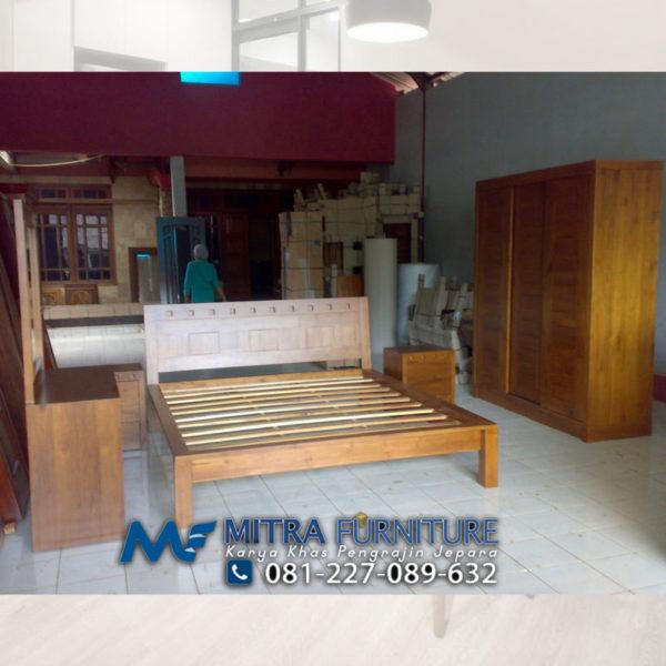 Pusat Jual Kamar Tidur Set Minimalis Kayu Jati Jepara