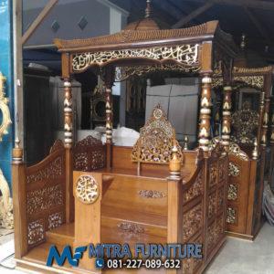 Pusat Jual Mimbar Masjid Ukir