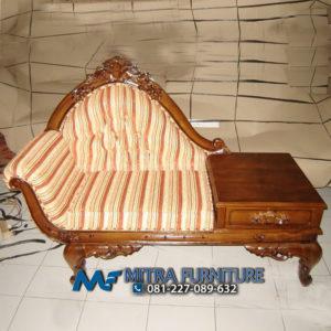 Pusat Jual Sofa Meja Telepone Ukiran Jati Jepara