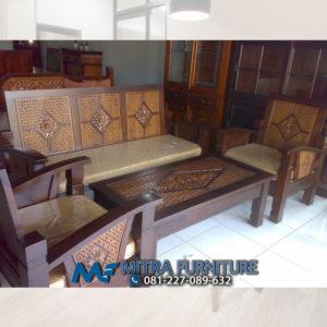 Harga Jual Kursi Tamu Minimalis Batik